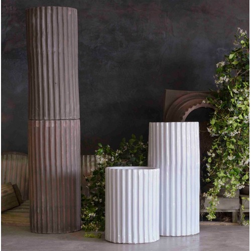 Classic and Design handmade terracotta vases, model Jonio | Laboratorio San Rocco