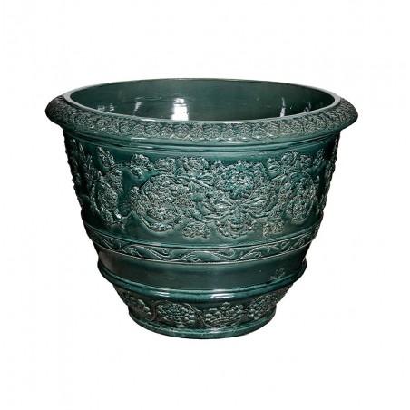 Vasi in terracotta artigianali classici e  di design modello Conca Capolavoro  | Laboratorio San Rocco