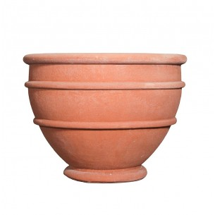 Classic and Design handmade terracotta vases, model Eli | Laboratorio San Rocco
