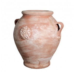 Classic and Design handmade terracotta vases, model Giara Rosa | Laboratorio San Rocco