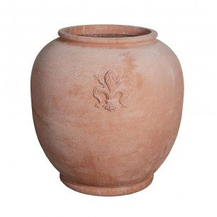 Classic and Design handmade terracotta vases, model Giglio | Laboratorio San Rocco