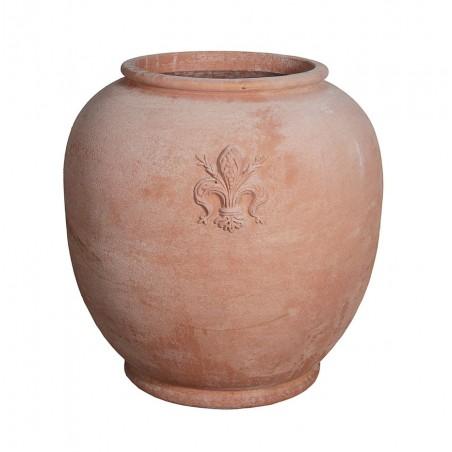 Classic and Design handmade terracotta vases, model Giglio | Laboratorio San Rocco