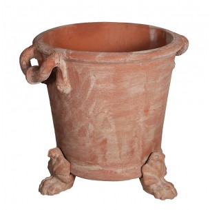 Classic and Design handmade terracotta vases, model Napoleone | Laboratorio San Rocco