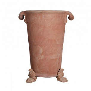 Classic and Design handmade terracotta vases, model Napoleone Maximus | Laboratorio San Rocco