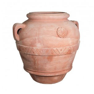 Classic and Design handmade terracotta vases, model Orcio Imprunetino | Laboratorio San Rocco