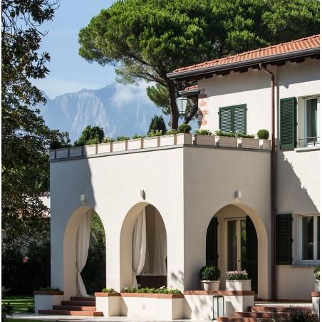 Classic and Design handmade terracotta vases, model Cassetta Alta Liscia | Laboratorio San Rocco