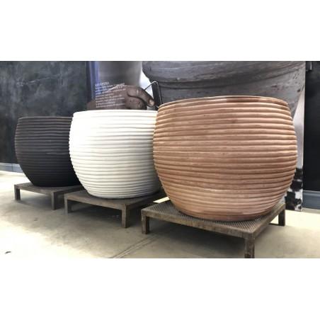 Classic and Design handmade terracotta vases, model copy of Faxi   Laboratorio San Rocco