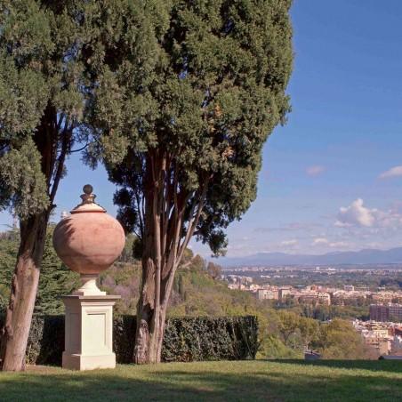 Complementi di arredo per giardino in terracotta artigianale classici e di design modello Dolium    Laboratorio San Rocco