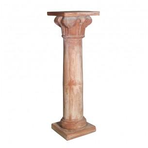 Complementi di arredo per giardino in terracotta artigianale classici e di design modello Colonna Con Capitello  | Laboratori...