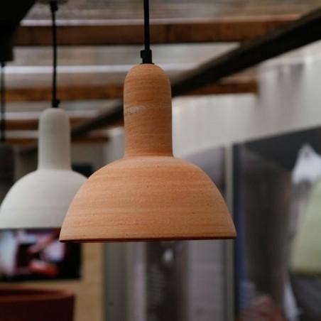 Illuminazione in terracotta artigianale di design | Laboratorio San Rocco