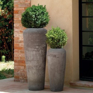 Classic and Design handmade terracotta vases, model Antika | Laboratorio San Rocco